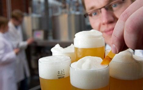Drunk but alert: students brew caffeine beer