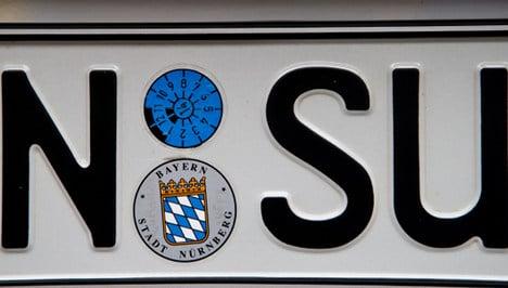 Council replaces 'NSU' terror gang car plates