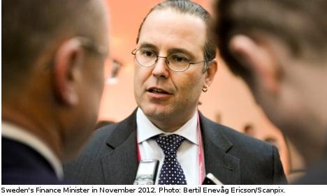 Swedish banks face 'heavy hand': Borg