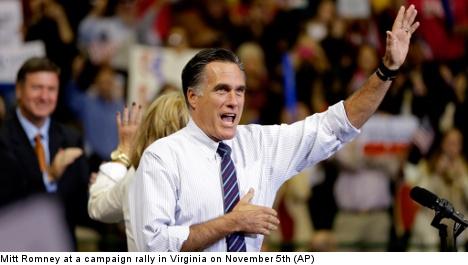 Republicans in Sweden still hope for Romney