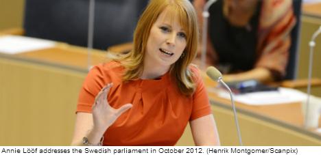 One woman makes Sweden's power top-ten