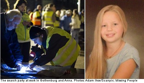 Suspect confesses to Gothenburg girl kidnap