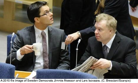 Found bag puts Sweden Democrat MP in doubt