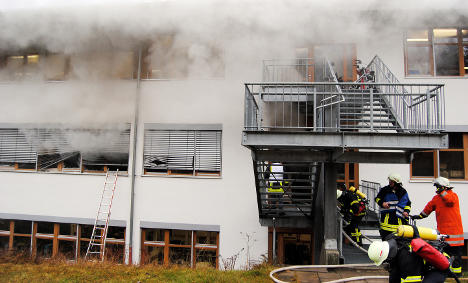 Gas leak blamed for deadly Black Forest blaze