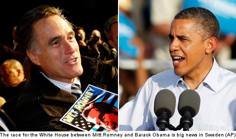 2012 US election fever grips Swedish media