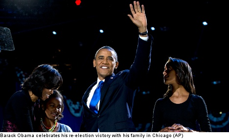 Obama win has Swedish politicians smiling