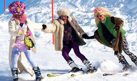Swiss gay ski week: never a drag