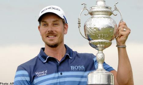 Sweden's Stenson claims SA Open win