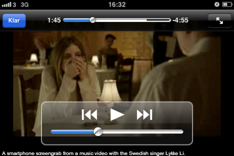 Video streaming boosts Swedish mobile traffic