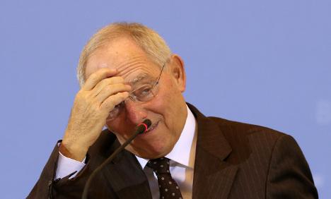 No quick fix for Greece, warns Schäuble