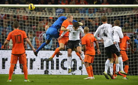 Germany hold the Dutch to goalless draw