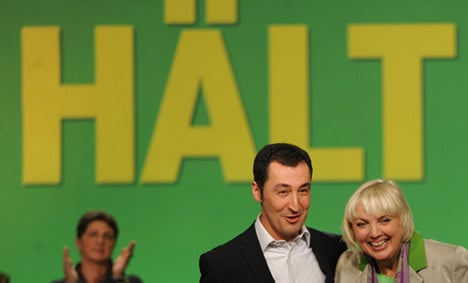 Greens hand party leaders solid re-election