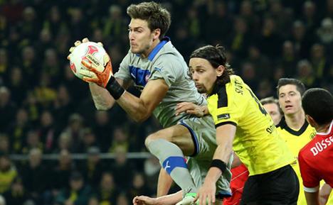 1-1 draw for Dortmund and Düsseldorf