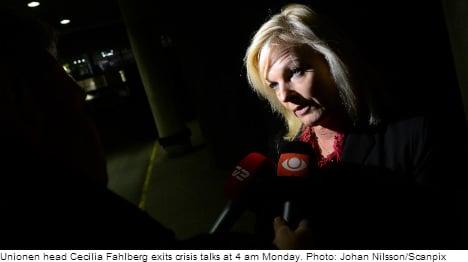 SAS 'ultimatum' angers Swedish unions