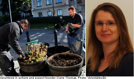 Volunteering in English launched in Sweden