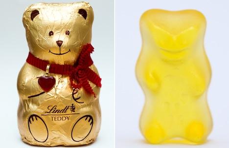 Haribo mauls Lindt in gummy bear battle