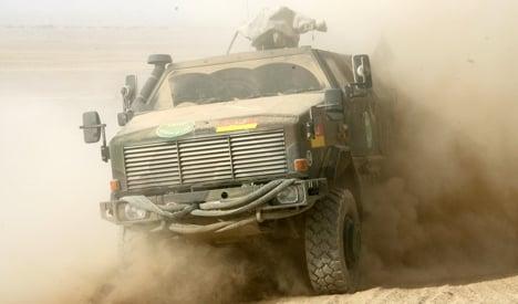 Merkel to greenlight armoured vehicle deal