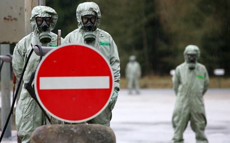 Bundeswehr 'unprepared for chemical warfare'