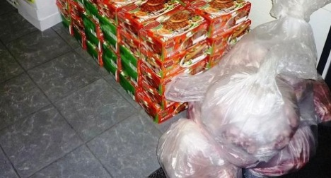 Basel border guards nab meat smugglers