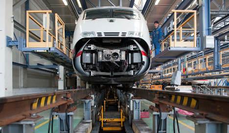 Deutsche Bahn sues steel giants over cartel