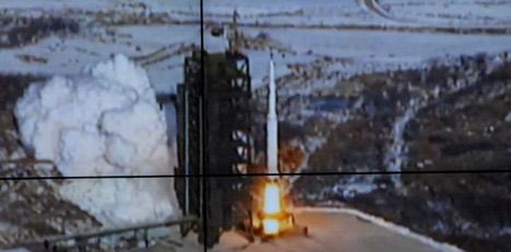 France slams North Korea rocket launch