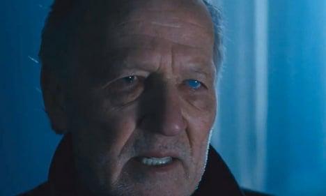 Werner Herzog relishes turn as screen villain