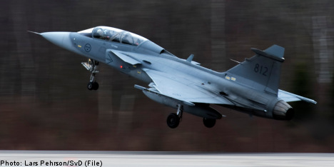 Swiss to pay less than Swedes for Gripen jets