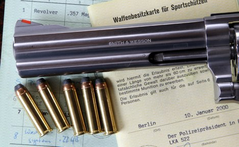 New stats: Germans own 5.5 million guns
