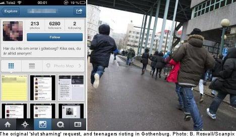 Swedish teens riot over Instagram sex rumours