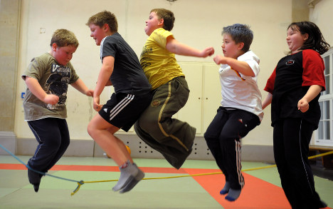Fewer overweight children in Germany