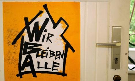 Berlin neighbourhood fights gentrification