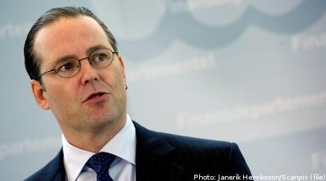Sweden won't block EU bank union: Borg