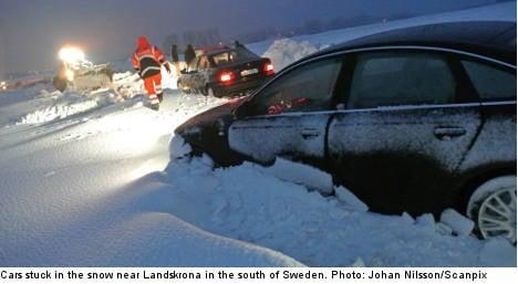 More snow as SMHI predicts white Christmas