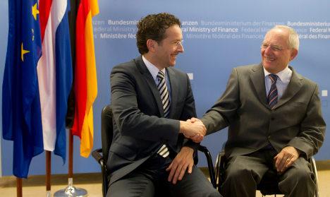 Schäuble: Dutch minister good for eurogroup job