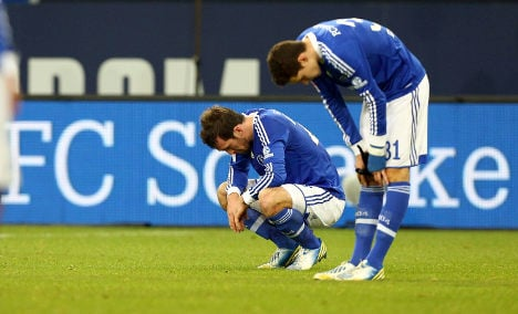 Schalke 04's Bundesliga slump continues