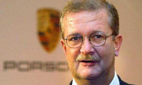 Ex-Porsche boss charged with market manipulation
