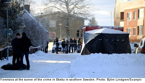 One killed in southern Sweden shoot-out