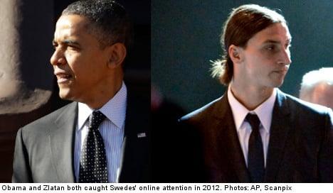 Zlatan and Obama fight for online primetime