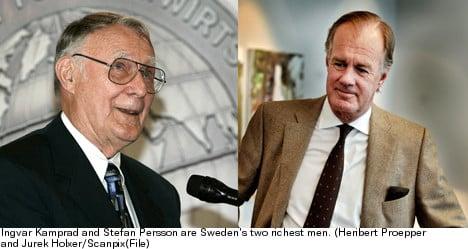 List of Swedish billionaires gets longer