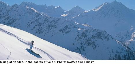 Avalanche kills Swedish skier in Switzerland
