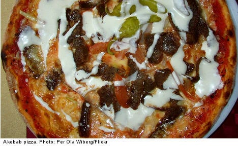 The kebab pizza is Sweden's favourite