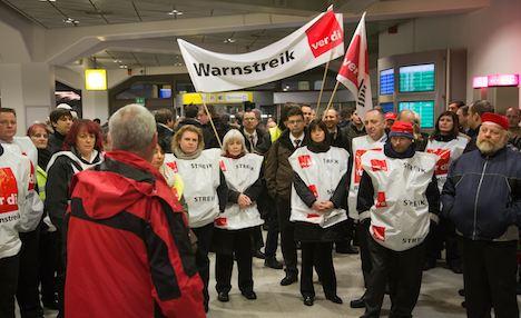 Surprise strikes cause airport delays