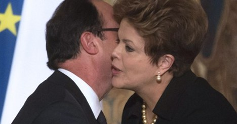 Rousseff tells Hollande: no fighter decision yet