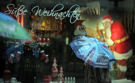 Rain dampens hopes of a white Christmas