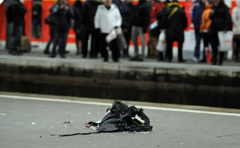 Second abandoned bag causes bomb scare