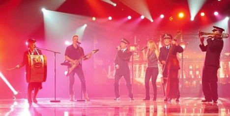 Sally Ann band triumphs as Eurovision pick