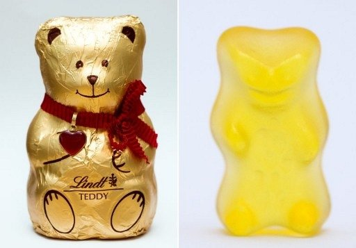 Gummy bear mauls Swiss chocolate rival