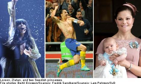 Sweden's biggest news stories in 2012