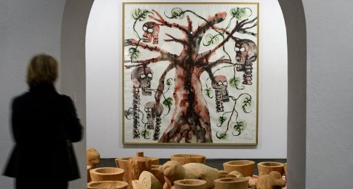 Geneva art show casts critical eye on food