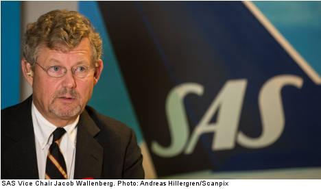'SAS had 10 days' worth of cash': Wallenberg